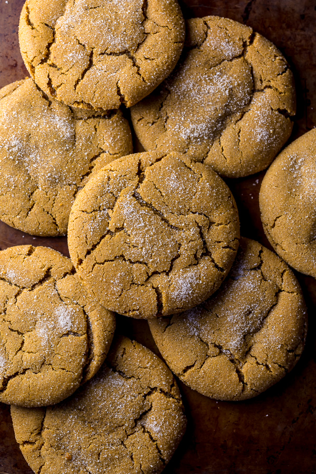 My Soft and Chewy Brown Butter Gingersnaps host all the classic appeal that you know and love - plus SO much more! The edges are irresistibly crunchy, while the thick centers stay soft and chewy. They're a Christmas cookie miracle!