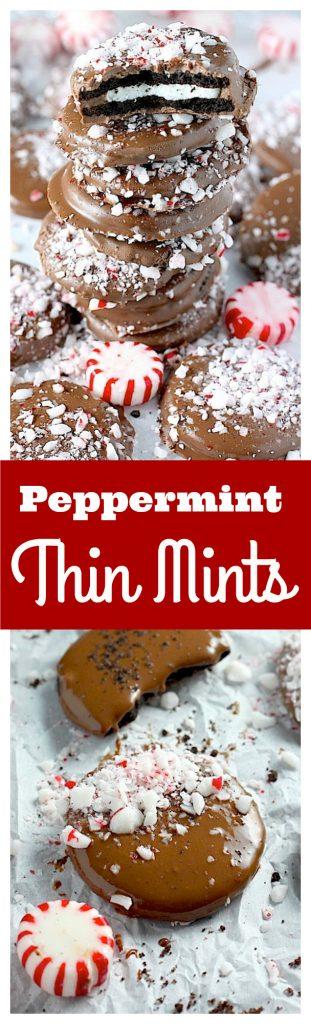 Easy Peppermint Mocha Thin Mints make wonderful holiday gifts!