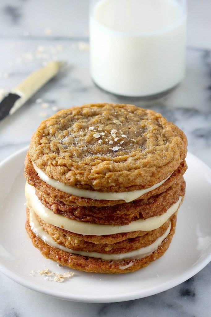Gingerbread Oatmeal Cream Pies + 10 Awesome Oatmeal Recipes