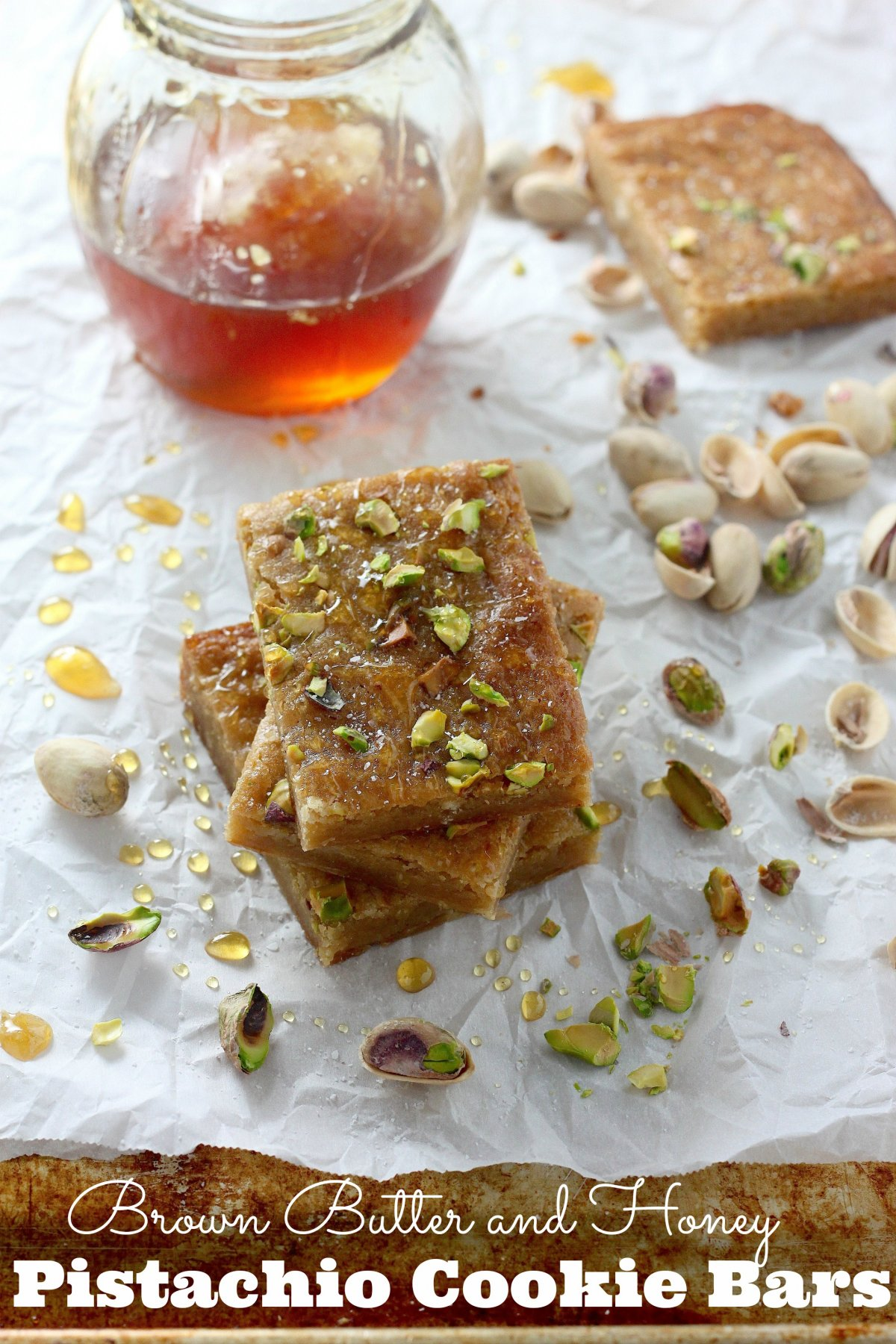 Butterscotch Pistachio 'Cookies Recipe — Dishmaps