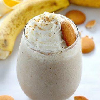 Healthy Banana Cream Pie Smoothie