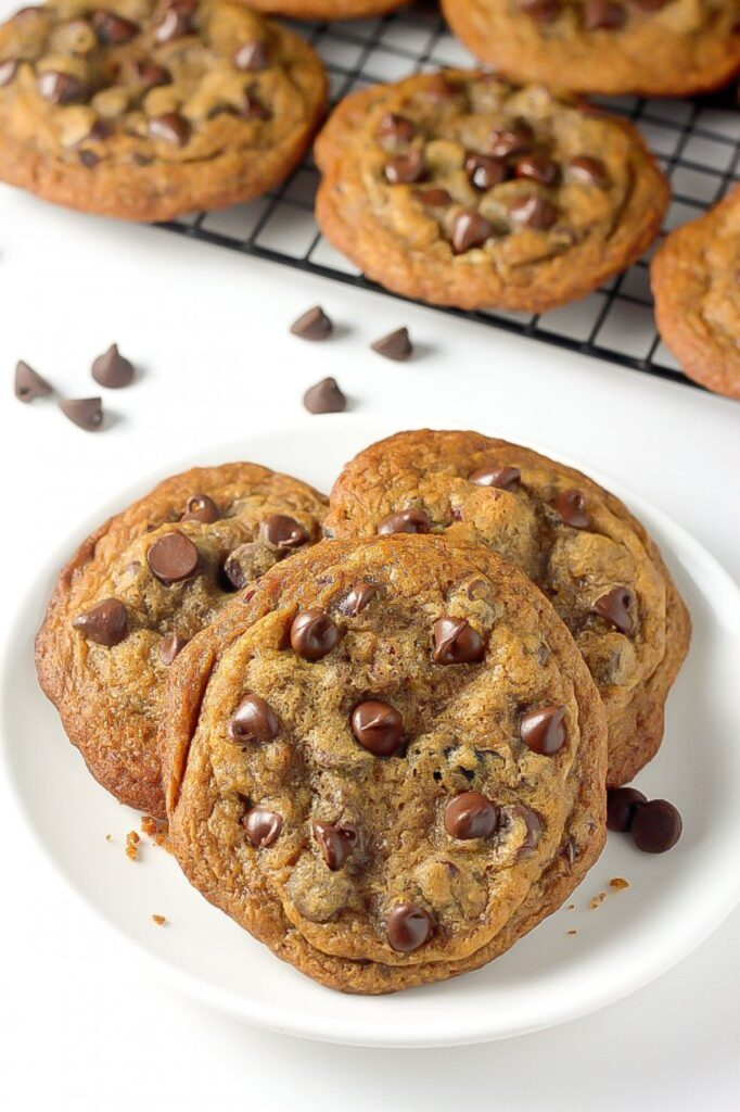 Greek Yogurt Chocolate Chip Cookies