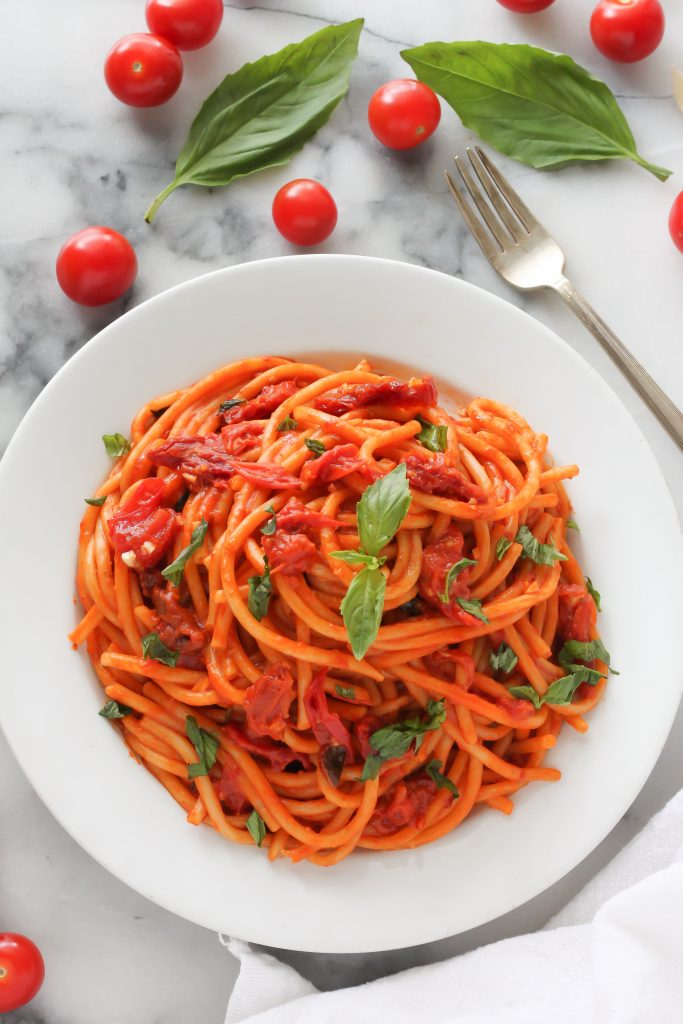 Sunday Suppers: One Pan Tomato Basil Pasta