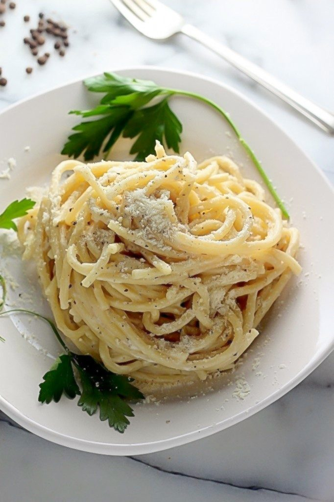 One-Pan Cacio e Pepe