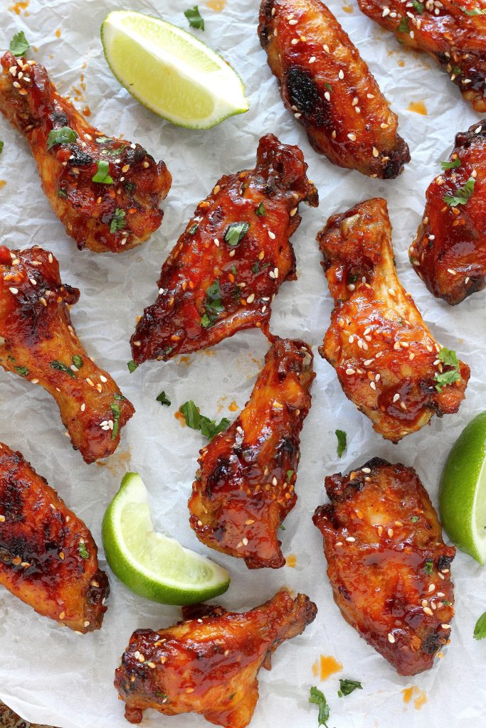 ... and spicy baked orange chicken wings in 3 2 1 sweet and spicy baked