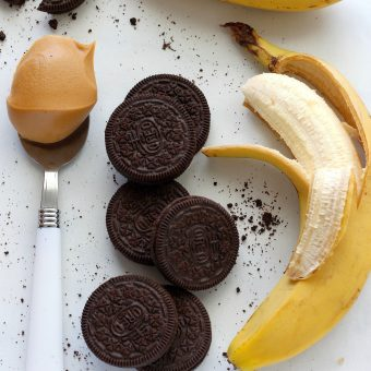 Chocolate Peanut Butter Cookies and Cream Breakfast Shake
