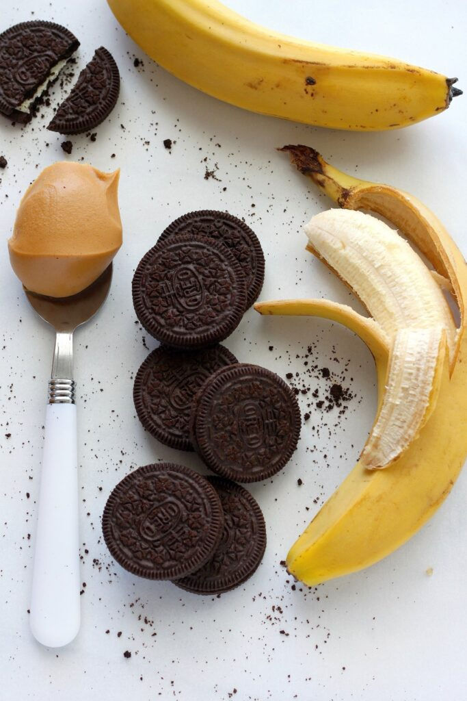 Chocolate Peanut Butter Cookies and Cream Breakfast Shake - Baker by ...