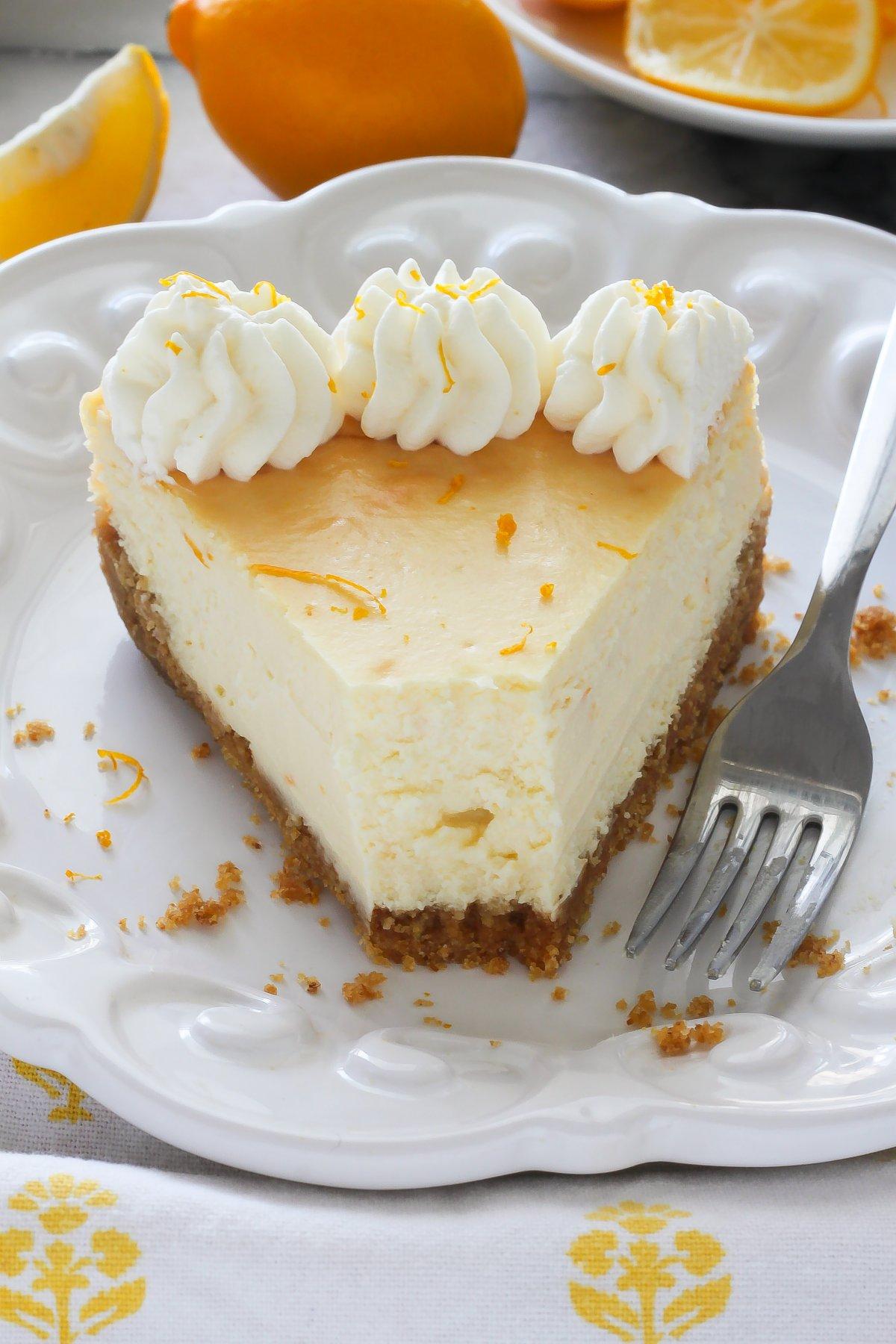 ricotta lemon ricotta cheesecake ghk lemon ricotta cheesecake little ...