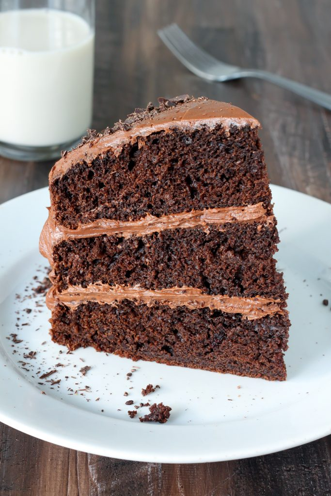 Box Chocolate Cake With Greek Yogurt