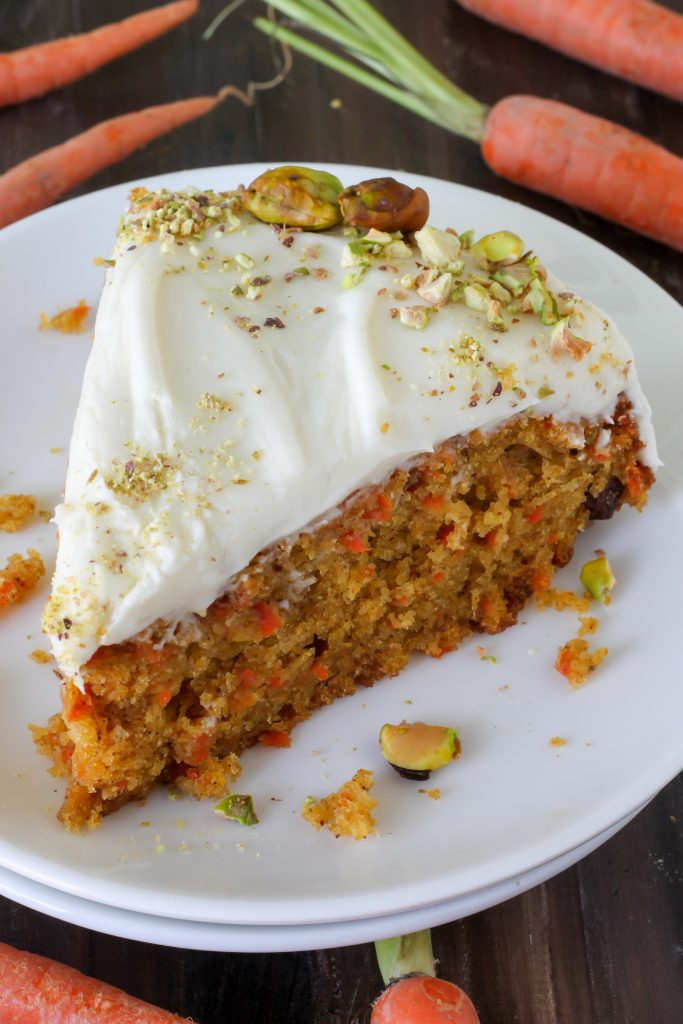 Pumpkin Carrot Cake with Cream Cheese Frosting and a Giveaway - Baker ...