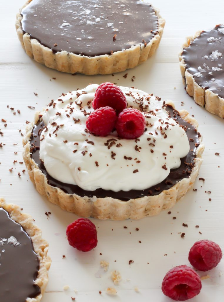 ... chocolate filling – these Chocolate Ganache Tarts are sure to grab