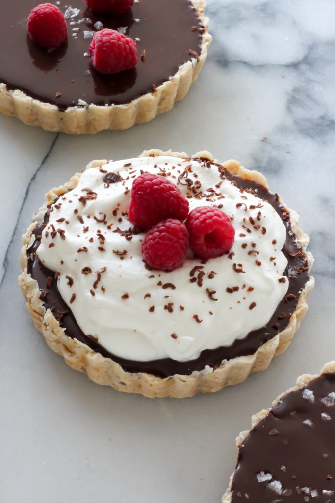 Chocolate Ganache Tarts