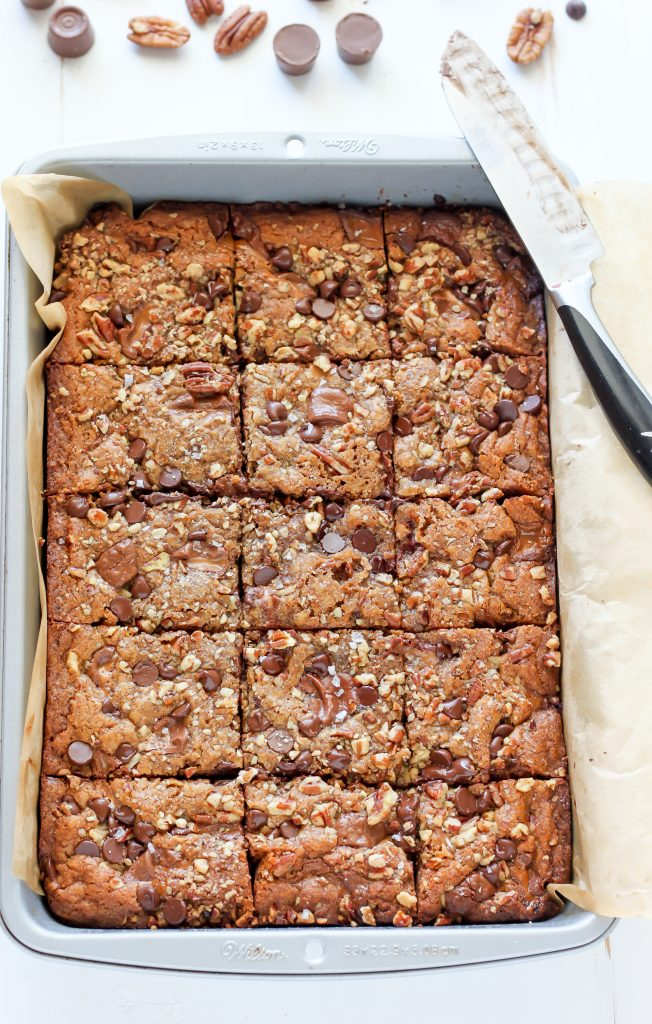 Salted Caramel Chocolate Pecan Brown Butter Blondies ...