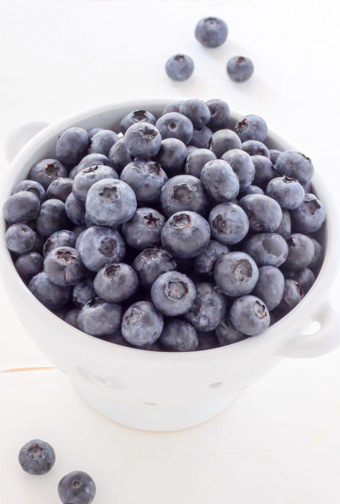 Blueberry Ricotta Crumb Cake