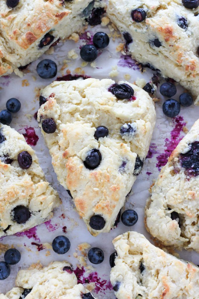 Blueberry Ricotta Scones