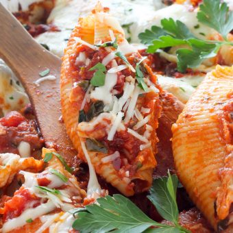 Stuffed Shells Fra Diavolo