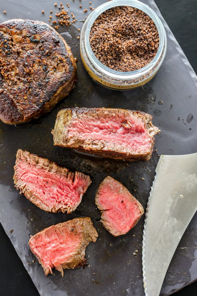 Perfect Pan-Seared Rib-Eye Filets are easier to cook at home than you ...