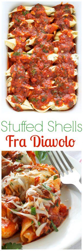 Stuffed Shells Fra Diavolo