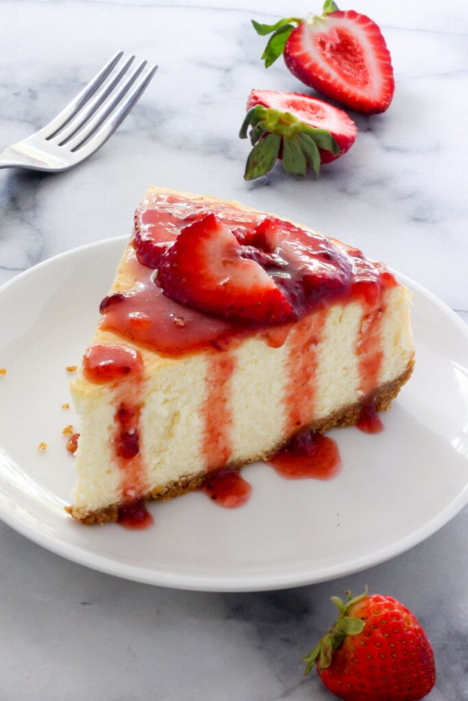 The Best New York-Style Cheesecake