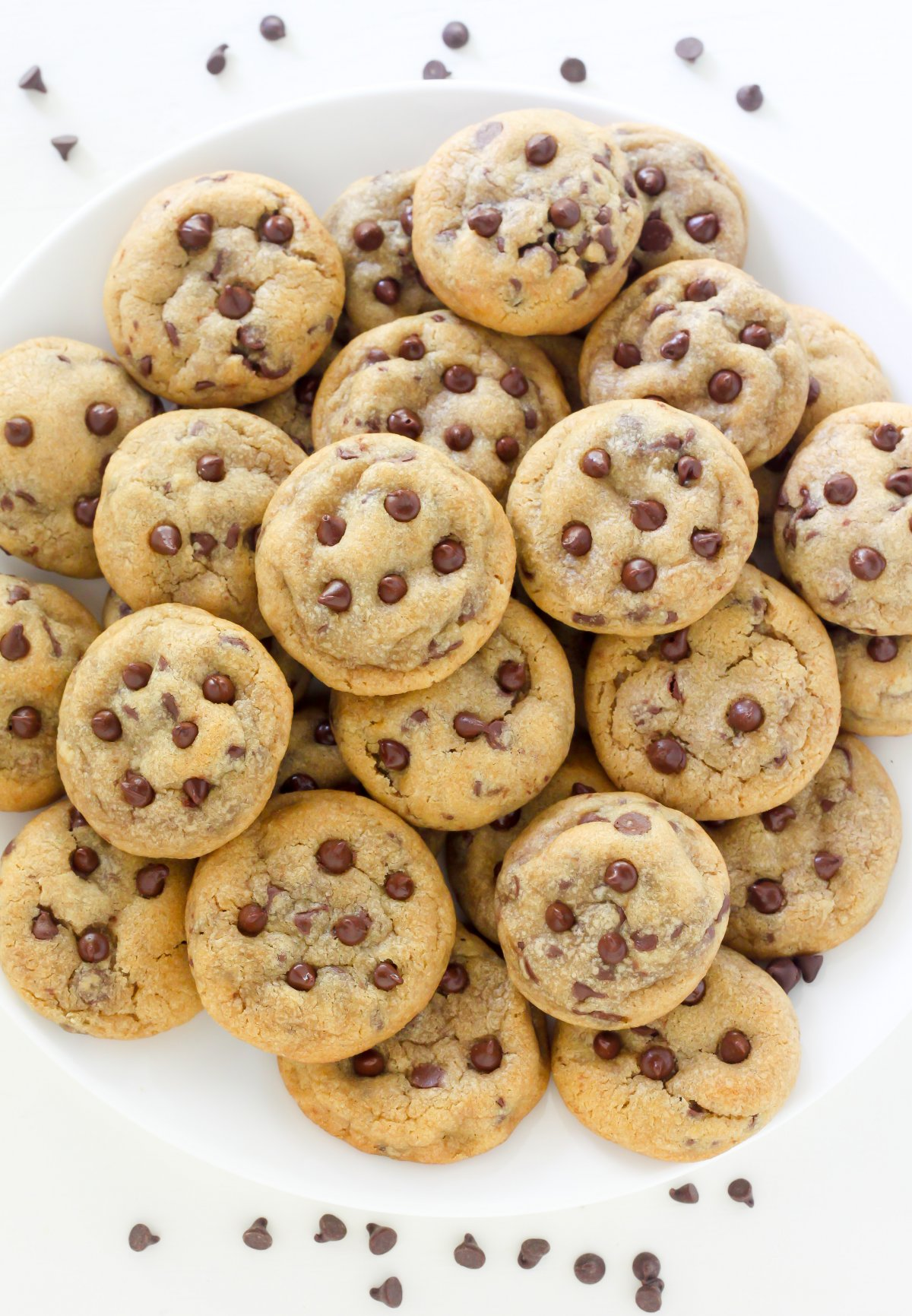 ... Chip Cookies are thick, chewy, and bursting with mini-chocolate chips
