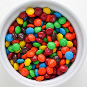 M&M Cookie Bites