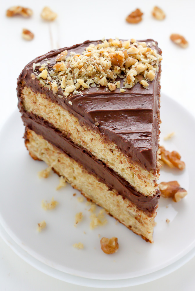 Old Fashioned  Layer Chocolate Cake