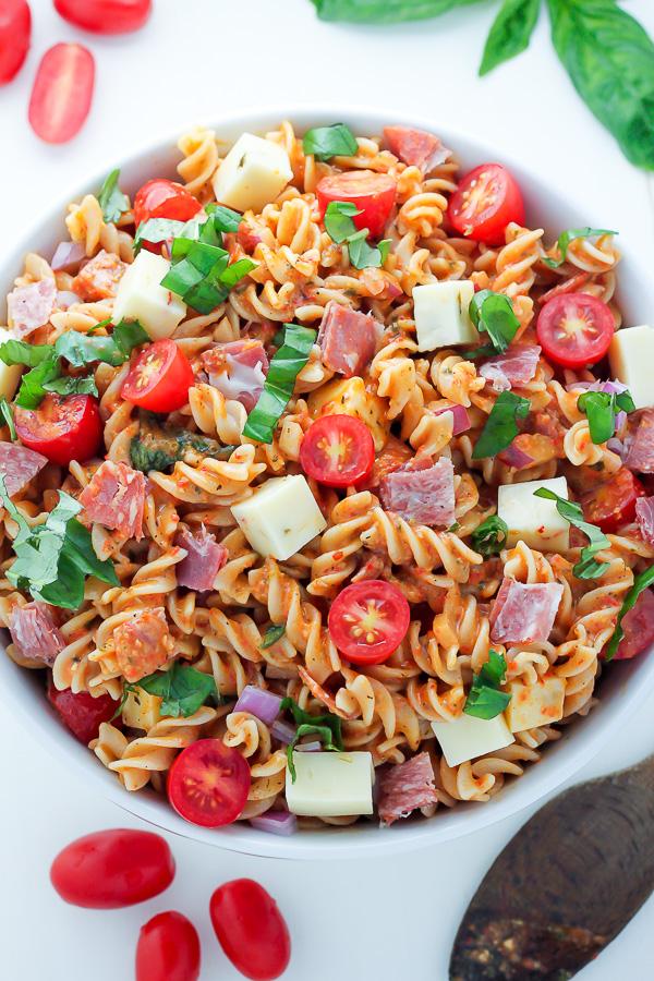 15-Minute Italian Pasta Salad