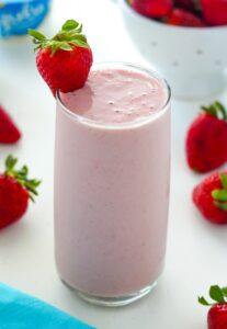 Strawberry Vanilla Smoothie