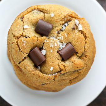 Greek Yogurt Chocolate Chunk Cookies