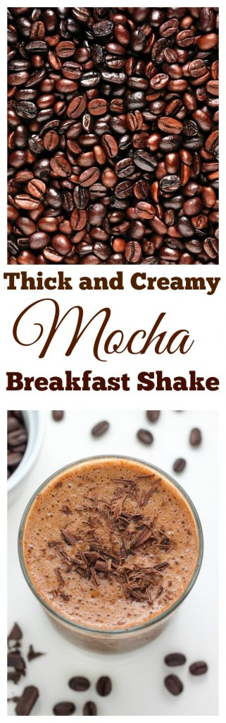 Chocolate Mocha Breakfast Shake