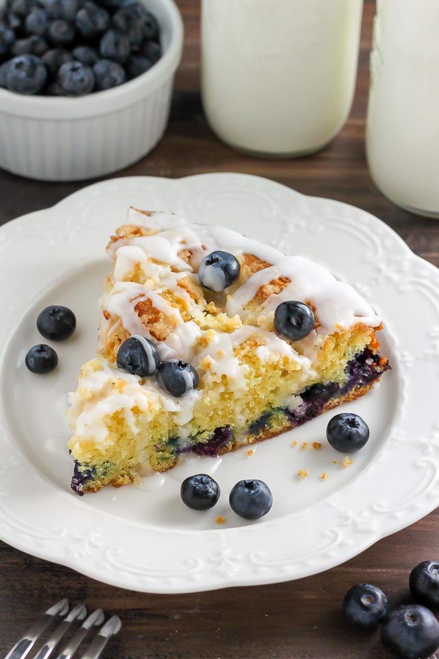 Blueberry Buttermilk Crumb Cake