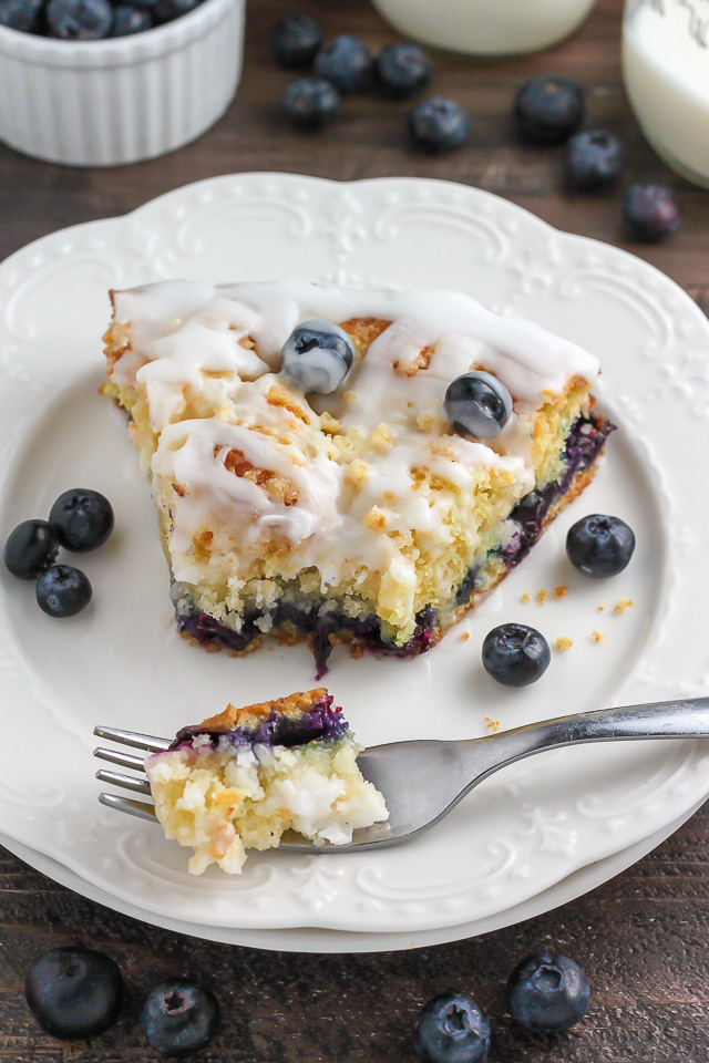Blueberry Buttermilk Crumb Cake
