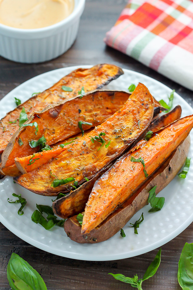 That's where these sweet potato wedges enter the picture!