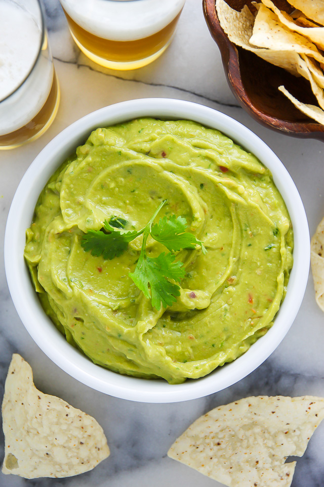 Creamy Avocado Dip ready in just 5 minutes! Healthy, hearty, and SO delicious!