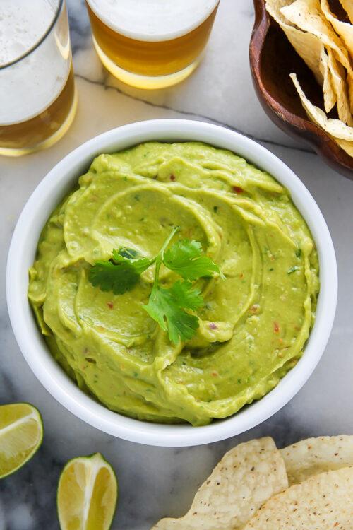 Creamy Avocado Dip ready in just 5 minutes! Healthy, hearty, and SO delicious!