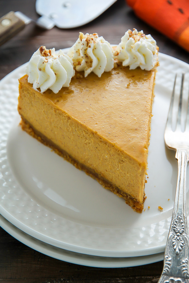 Classic Pumpkin Pie Cheesecake Baker By Nature