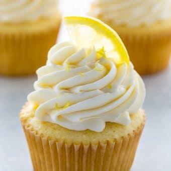 One-Bowl Lemon Ricotta Cupcakes