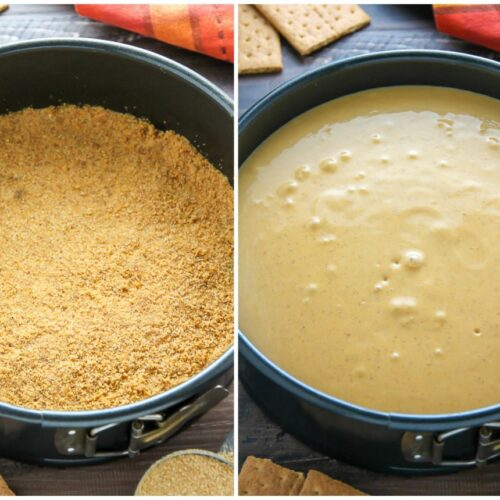 Classic Pumpkin Pie Cheesecake - this is what Fall dreams are made of!!!