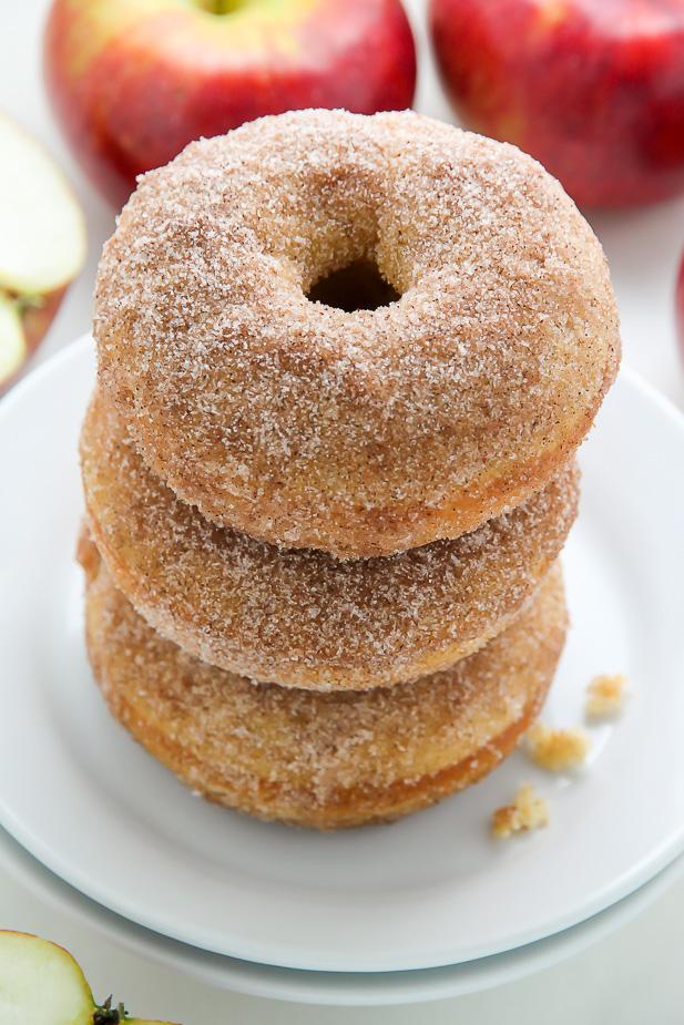 Brown Butter Apple Cider Donuts