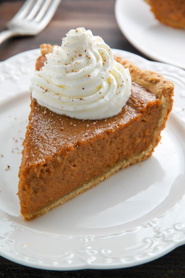Chai Spice Pumpkin Pie