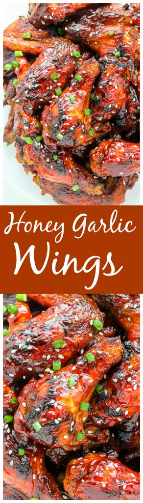 Baked and full of flavor, these wings are done in just about an hour. Dangerously easy to make and eat!