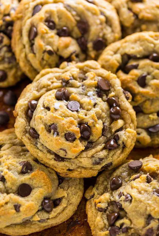 Best Ever Thick And Chewy Chocolate Chip Cookies