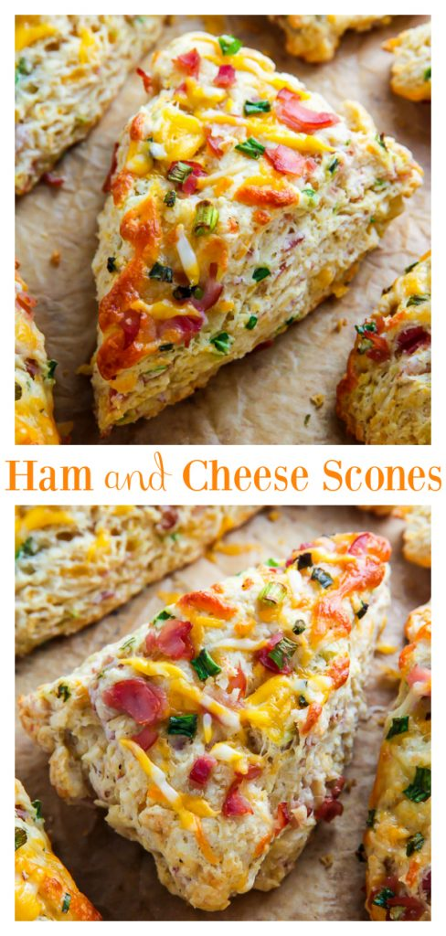There's nothing like pulling a warm tray of ham and cheese scones out of the oven! The best part? They're SO easy! Perfect for Easter brunch or to use up leftover Easter ham!
