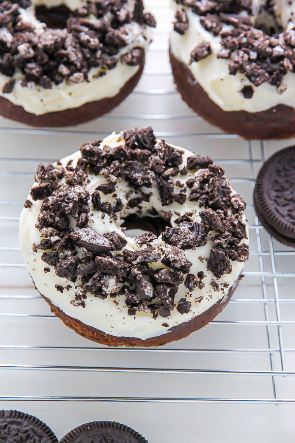Oreo Cookies And Cream Donuts Baker By Nature