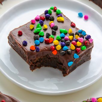 Super Fudgy Chocolate Frosted Brownies