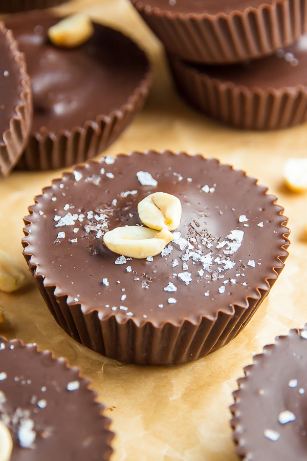 5 Ingredient Peanut Butter Cups Baker By Nature
