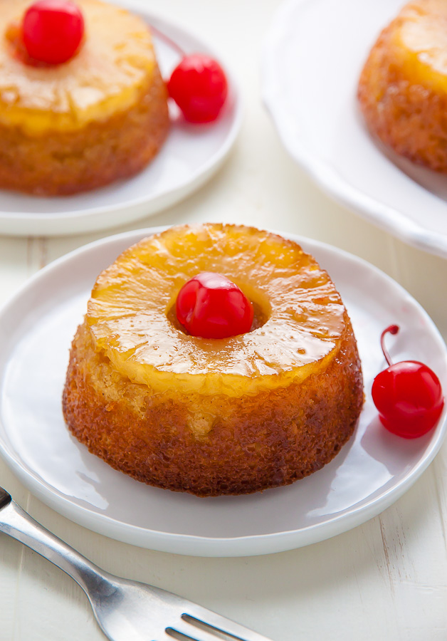 These Mini Pineapple Upside-Down Cakes are simple, sweet, and sure to put a smile on everyone's face!