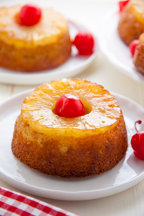 Strawberry Pineapple Upside Down Cake