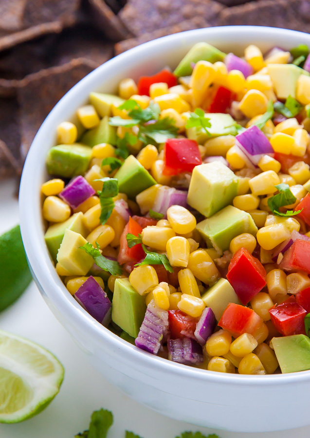 Fresh and flavorful Avocado Salsa! Perfect for parties and entertaining.
