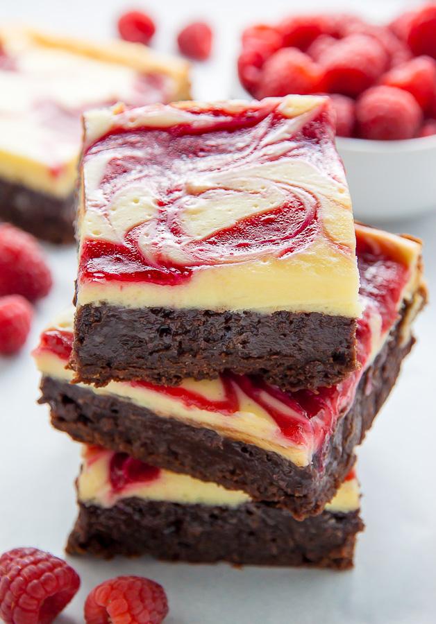 White Chocolate Fudge Brownie Cake